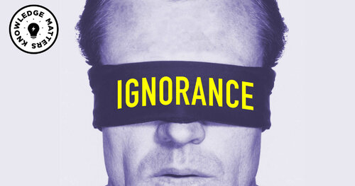 Neznalost a ignorance